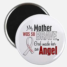 "Angel 1 MOTHER Lung Cancer 2.25"" Magnet (10 pack)"
