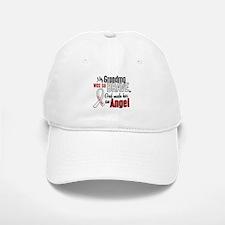 Angel 1 GRANDMA Lung Cancer Baseball Baseball Cap