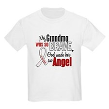 Angel 1 GRANDMA Lung Cancer T-Shirt