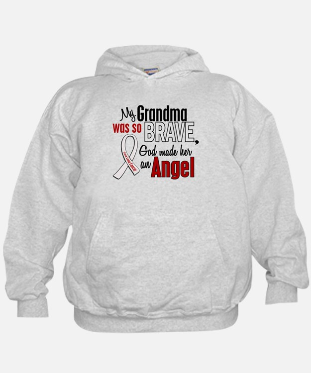 Angel 1 GRANDMA Lung Cancer Hoodie