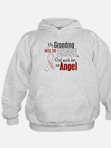 Angel 1 GRANDMA Lung Cancer Hoody