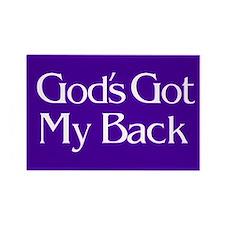 God's Got My Back Magnet