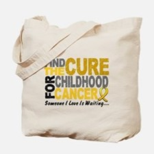 Find The Cure 1 CHILD CANCER Tote Bag