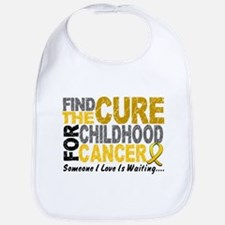 Find The Cure 1 CHILD CANCER Bib