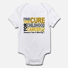 Find The Cure 1 CHILD CANCER Infant Bodysuit