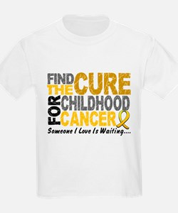Find The Cure 1 CHILD CANCER T-Shirt