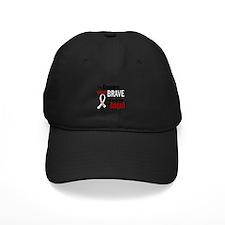 Angel 1 GRANDPA Lung Cancer Baseball Hat