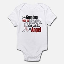 Angel 1 GRANDPA Lung Cancer Onesie