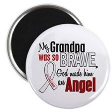 Angel 1 GRANDPA Lung Cancer Magnet