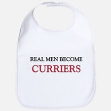 Real Men Become Curriers Bib