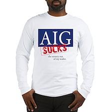 AIG Sucks Long Sleeve T-Shirt