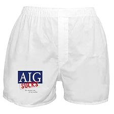 AIG Sucks Boxer Shorts