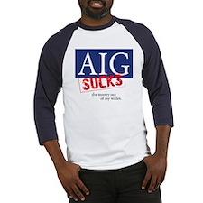 AIG Sucks Baseball Jersey