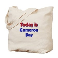 Today Is Cameron Day Tote Bag