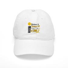 BELIEVE DREAM HOPE Child Cancer Baseball Cap