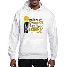 BELIEVE DREAM HOPE Child Cancer Hoodie