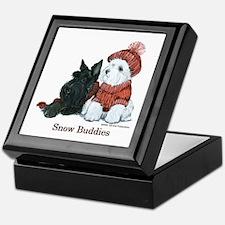 Scottish and Westhighland Terriers Keepsake Box