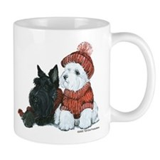 Scottish and Westhighland Terriers Mug