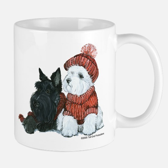 Scottish and Westhighland Terriers Mug