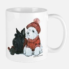 Scottish and Westhighland Terriers Small Small Mug