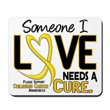Needs A Cure 2 CHILD CANCER Mousepad