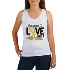 Needs A Cure 2 CHILD CANCER Women's Tank Top