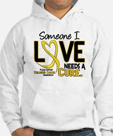 Needs A Cure 2 CHILD CANCER Hoodie