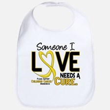 Needs A Cure 2 CHILD CANCER Bib