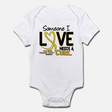 Needs A Cure 2 CHILD CANCER Infant Bodysuit