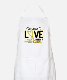 Needs A Cure 2 CHILD CANCER BBQ Apron