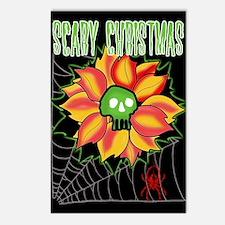 Skull Flower Postcards (Package of 8)