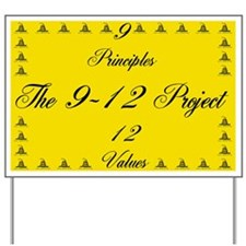 The 9-12 Project Yard Sign