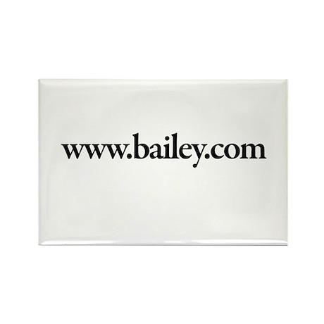 www.Bailey.com Rectangle Magnet