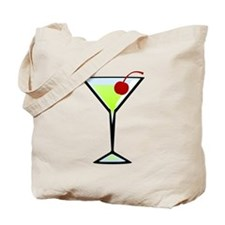 Green Apple Martini Tote Bag