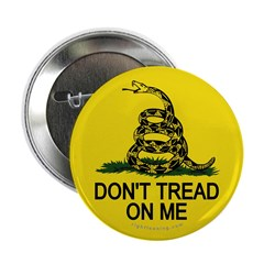 "Don't Tread on Me 2.25"" Button (10 pack)"