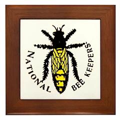 National Bee Keepers Framed Tile