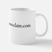 www.Claire.com Mug