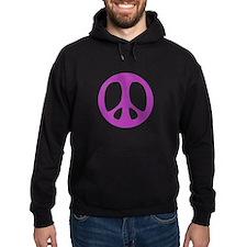 purple peace Hoodie
