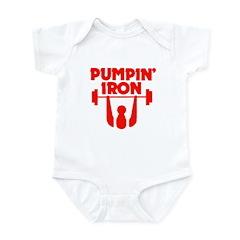 Pumpin' Iron Infant Bodysuit