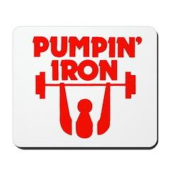 Pumpin' Iron Mousepad