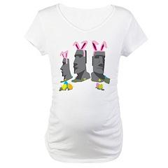 Easter Island Maternity T-Shirt