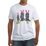 Easter Island Fitted T-Shirt