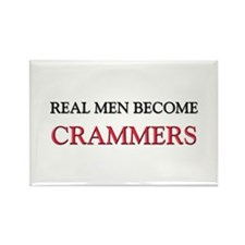 Real Men Become Crammers Rectangle Magnet