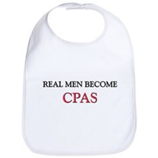 Real Men Become Cpas Bib