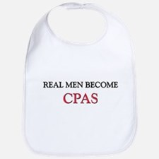 Real Men Become Cpas Bib