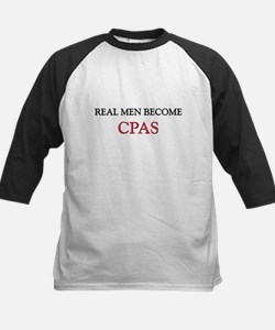 Real Men Become Cpas Tee
