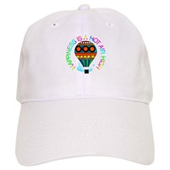 Hot Air High Baseball Cap