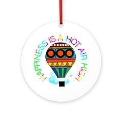Hot Air High Ornament (Round)