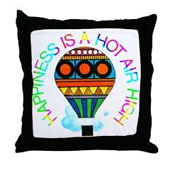 Hot Air High Throw Pillow