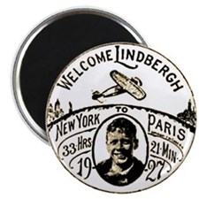 Welcome Lindbergh Magnet